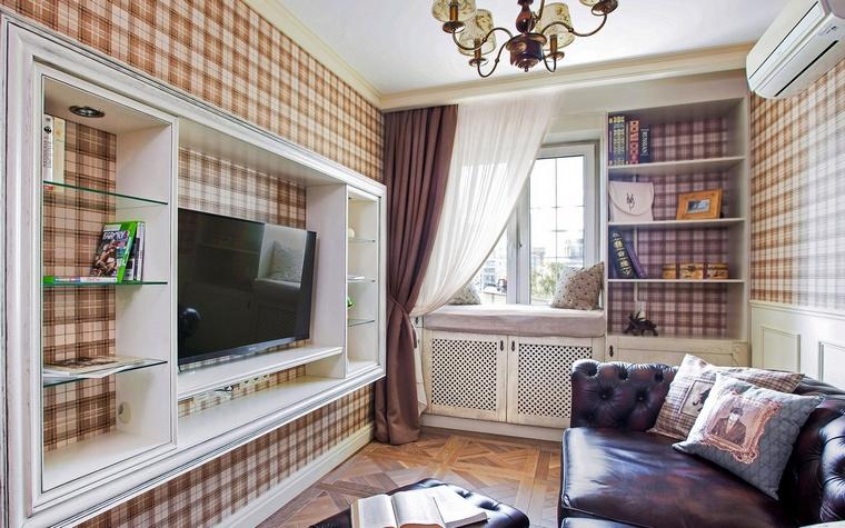 Фото № 61914 гостиная  Квартира