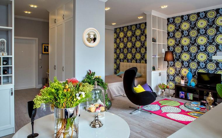 интерьер гостиной - фото № 61932