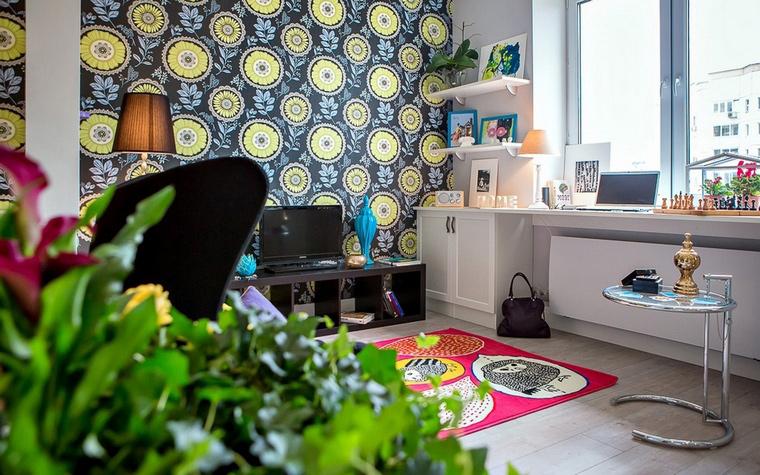 интерьер гостиной - фото № 61933