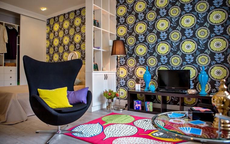 интерьер гостиной - фото № 61936