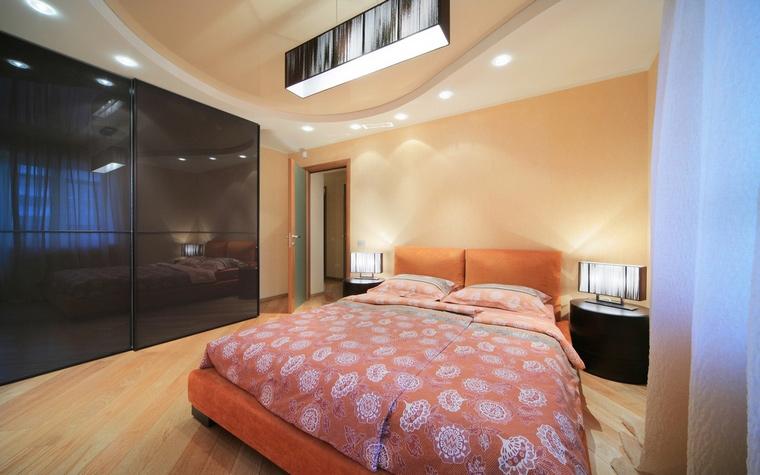 Квартира. спальня из проекта , фото №62012
