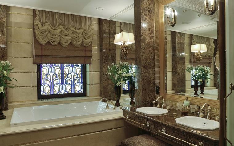 Квартира. ванная из проекта , фото №62024