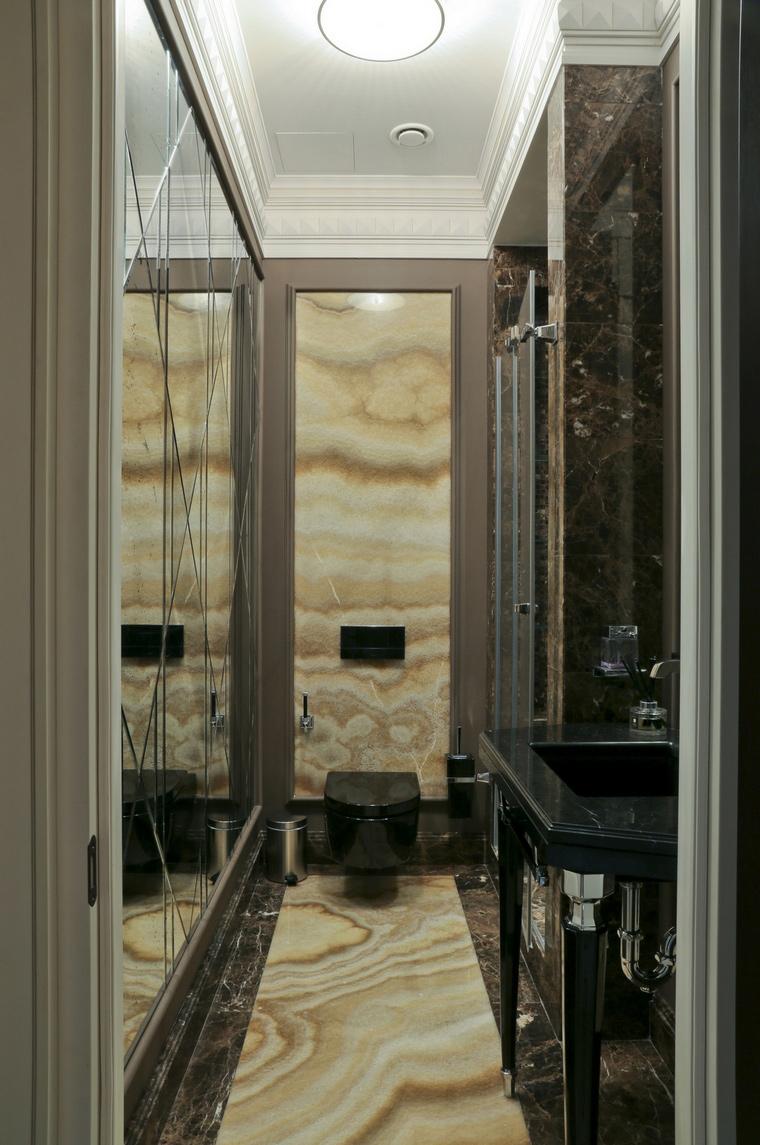Квартира. ванная из проекта , фото №62025