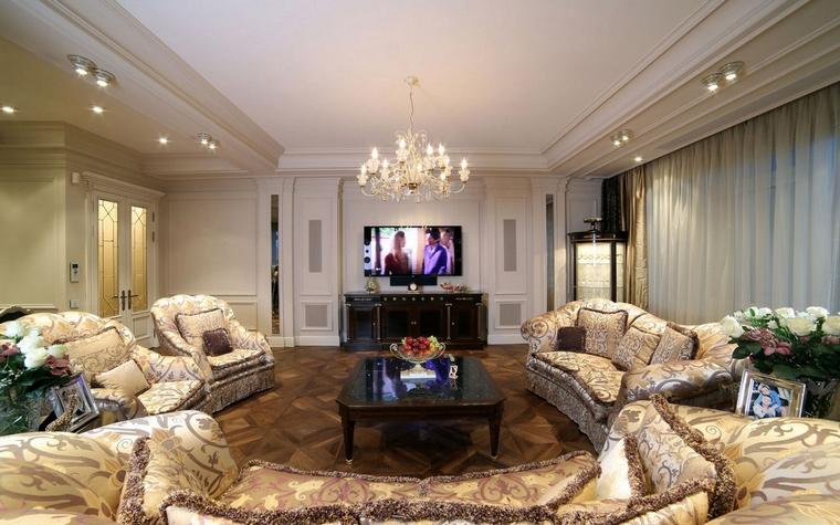 интерьер гостиной - фото № 62033