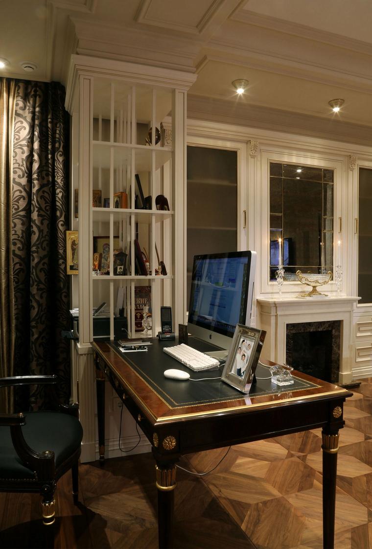 Квартира. кабинет из проекта , фото №62035
