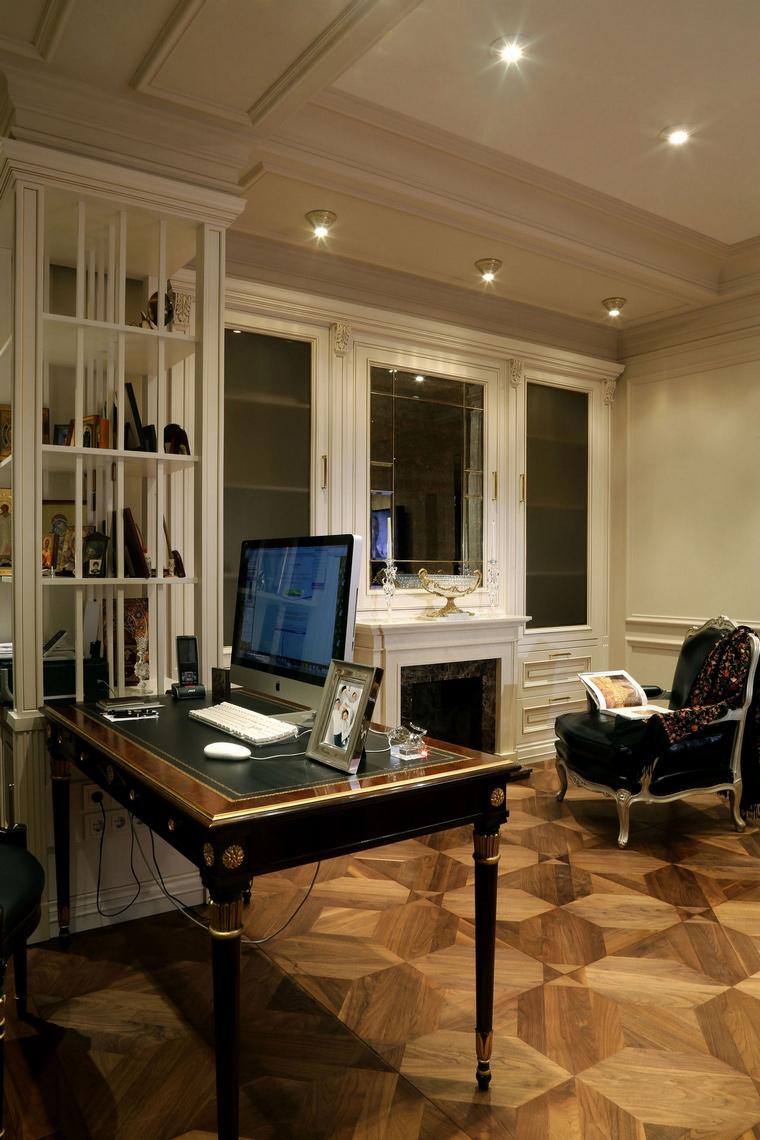 Квартира. кабинет из проекта , фото №62036