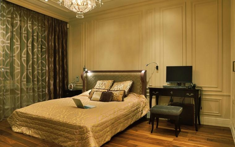 интерьер спальни - фото № 62043
