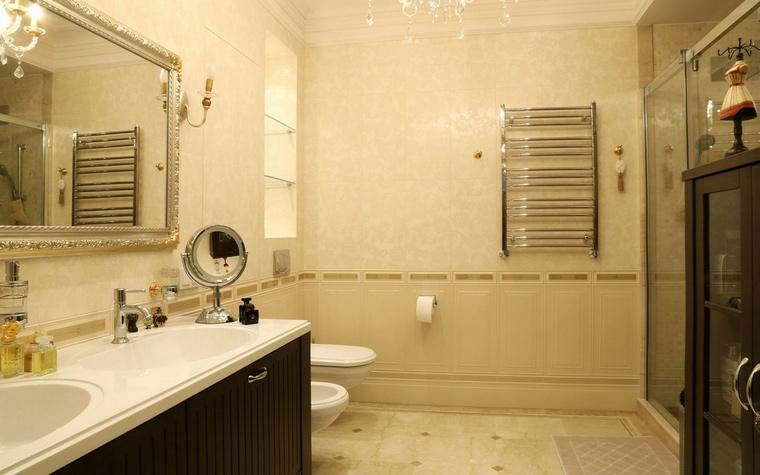 Квартира. ванная из проекта , фото №62054
