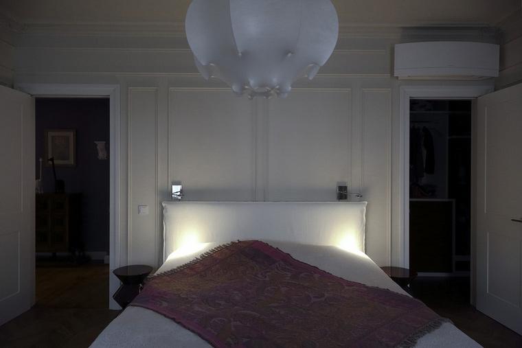 Квартира. спальня из проекта , фото №62086