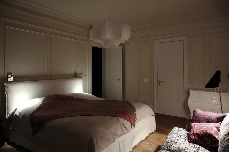 Квартира. спальня из проекта , фото №62079