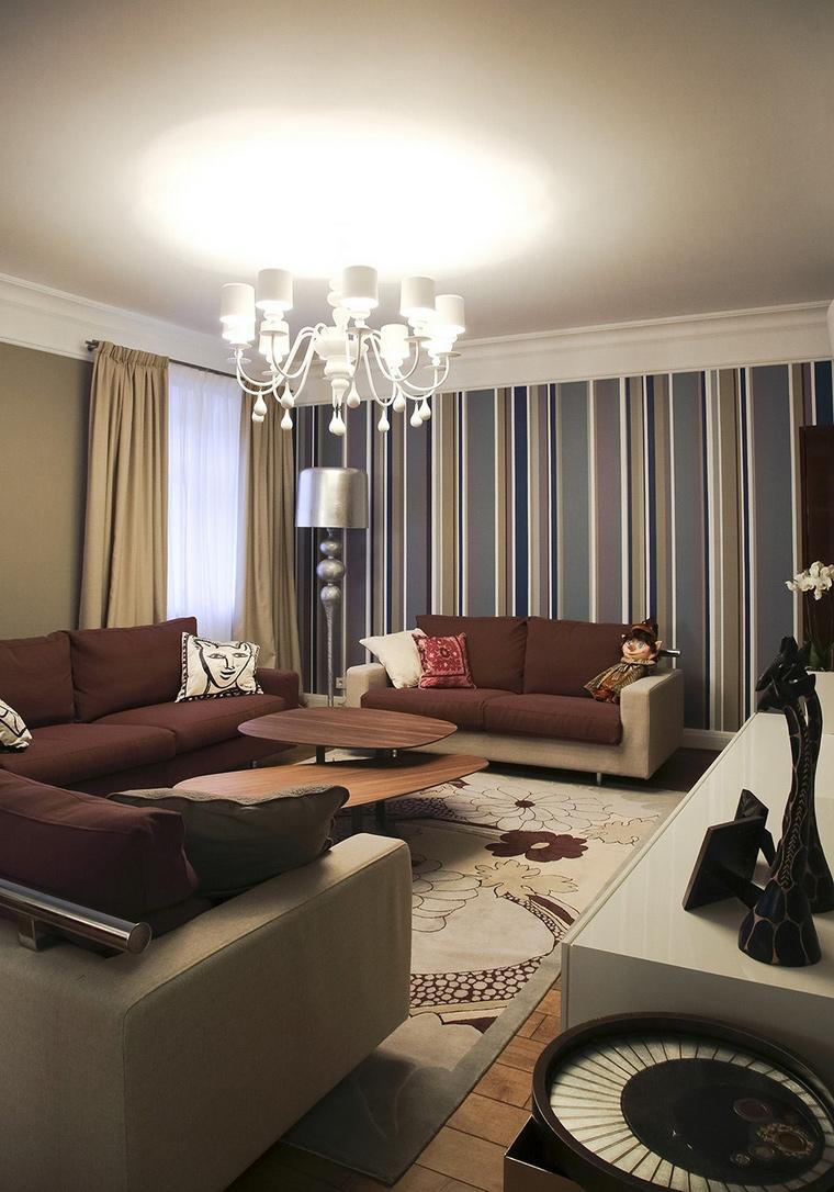 интерьер гостиной - фото № 62072