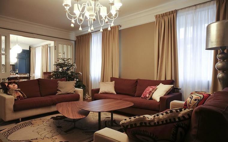 интерьер гостиной - фото № 62074