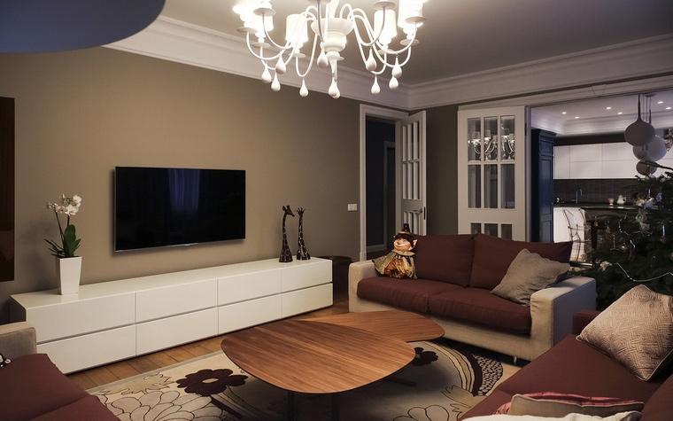 интерьер гостиной - фото № 62075