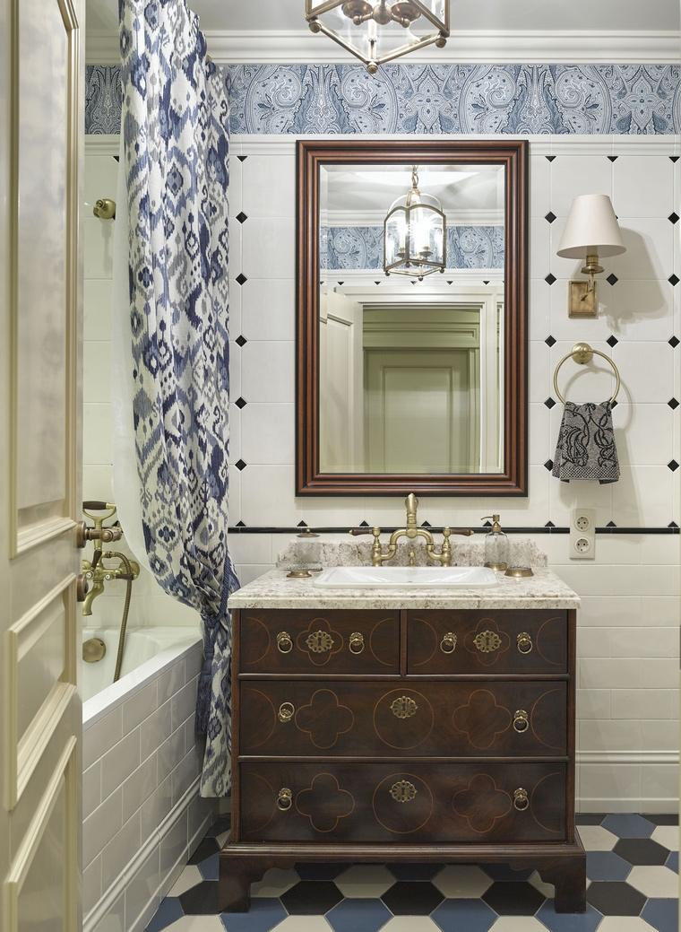 Фото № 62135 ванная  Квартира