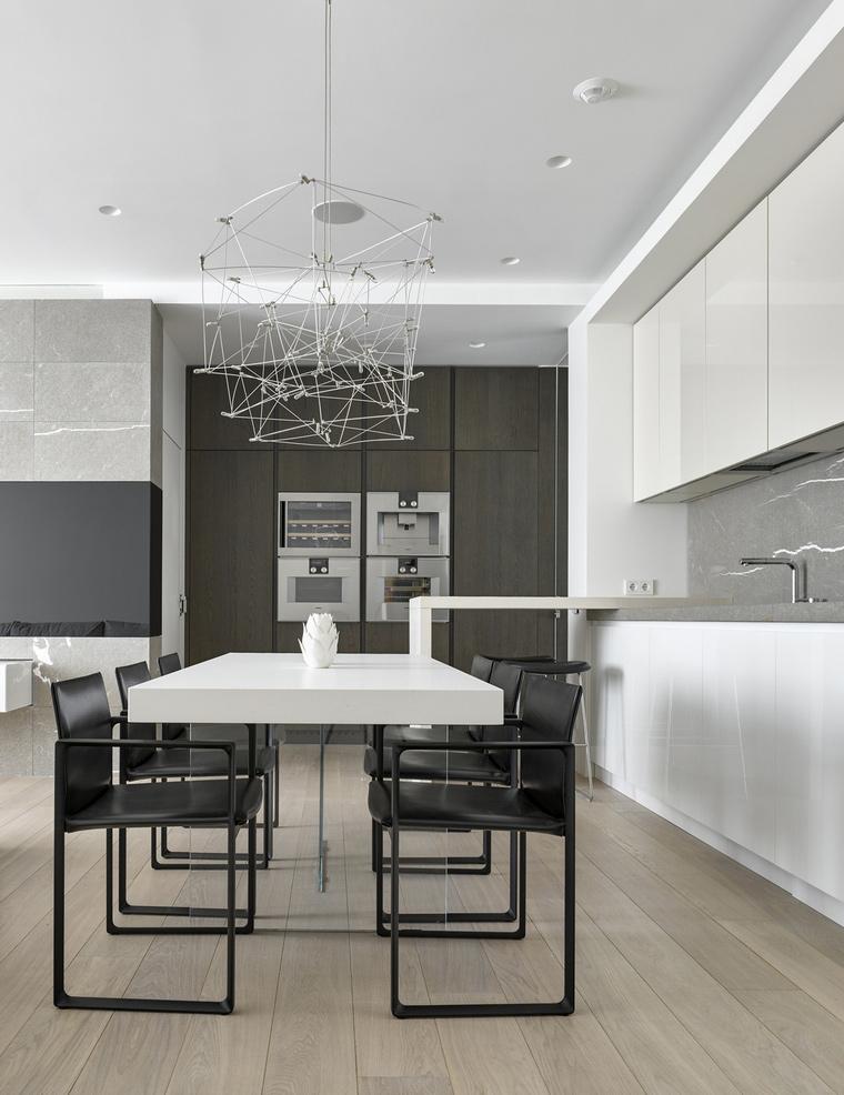Фото № 62145 кухня  Квартира