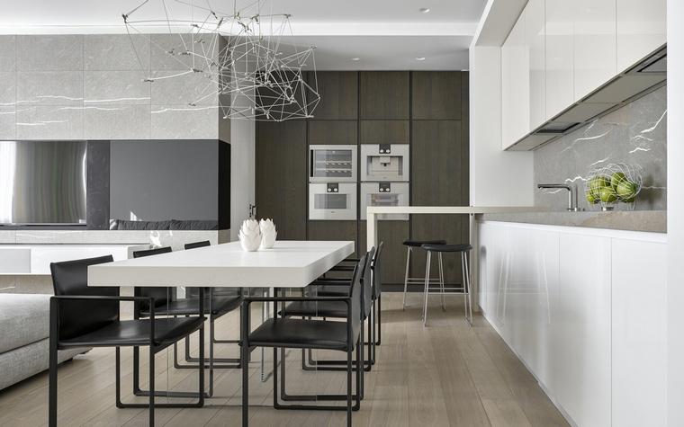 Фото № 62146 кухня  Квартира