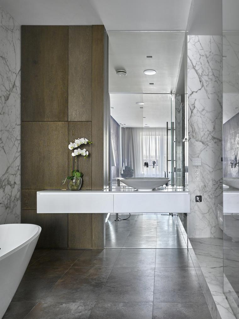 Фото № 62155 ванная  Квартира