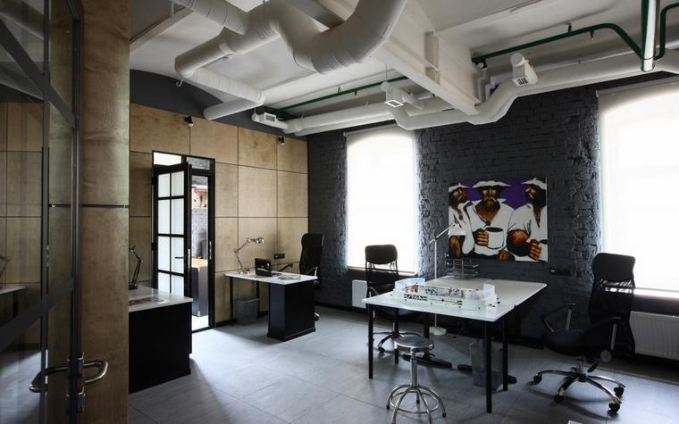 Дизайн офиса. офисы из проекта , фото №62249