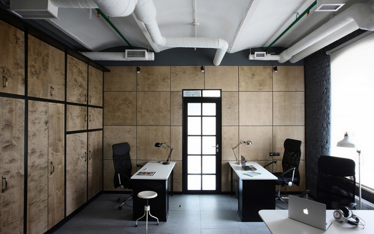 Дизайн офиса. офисы из проекта , фото №62250
