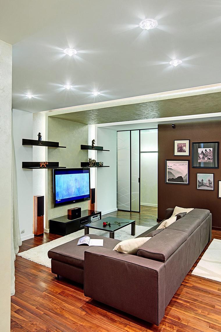 интерьер гостиной - фото № 62273