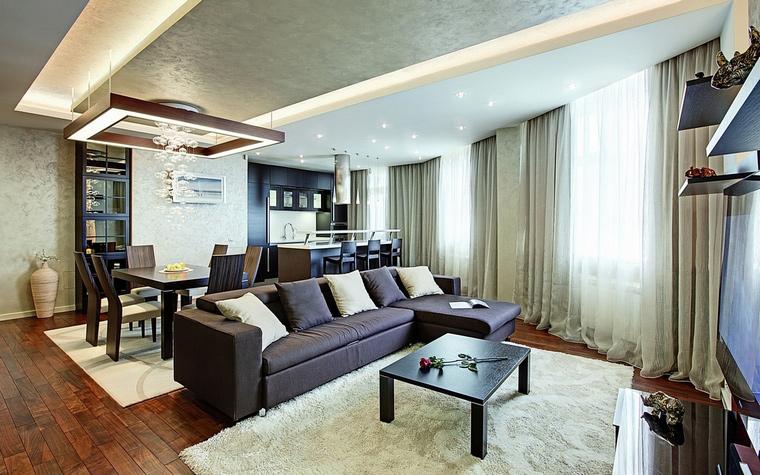 интерьер гостиной - фото № 62272