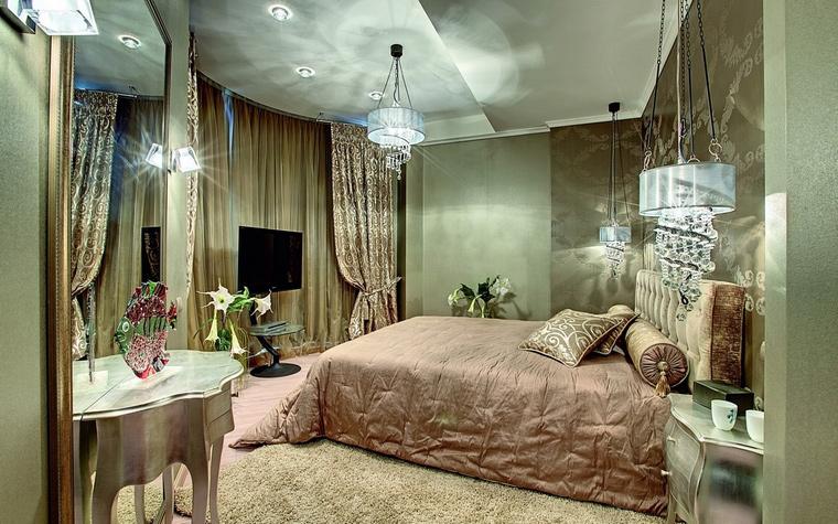 интерьер спальни - фото № 62292
