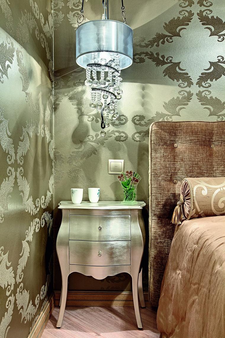 интерьер спальни - фото № 62294