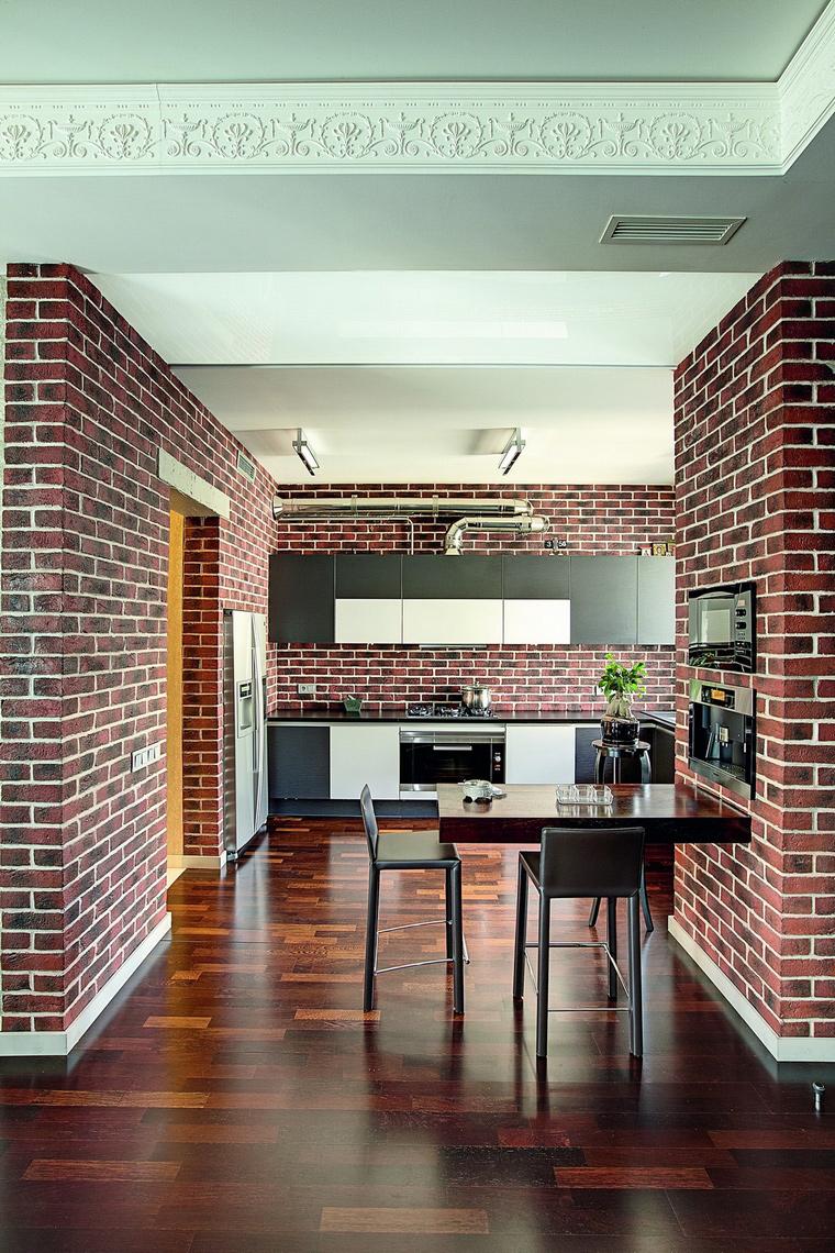 Фото № 62315 кухня  Квартира