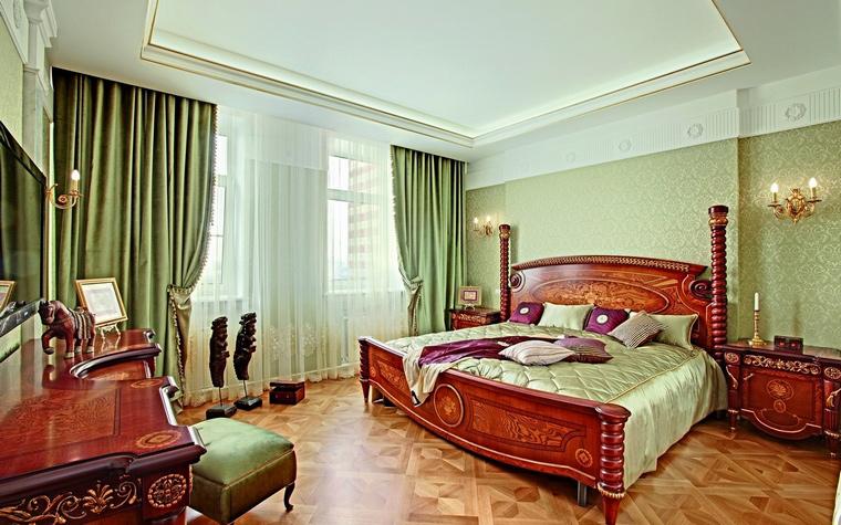 интерьер спальни - фото № 62331