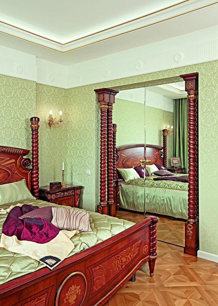 интерьер спальни - фото № 62332