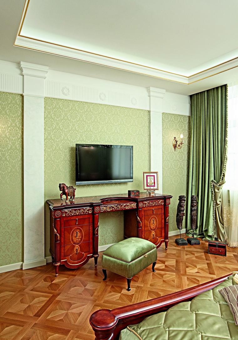интерьер спальни - фото № 62333