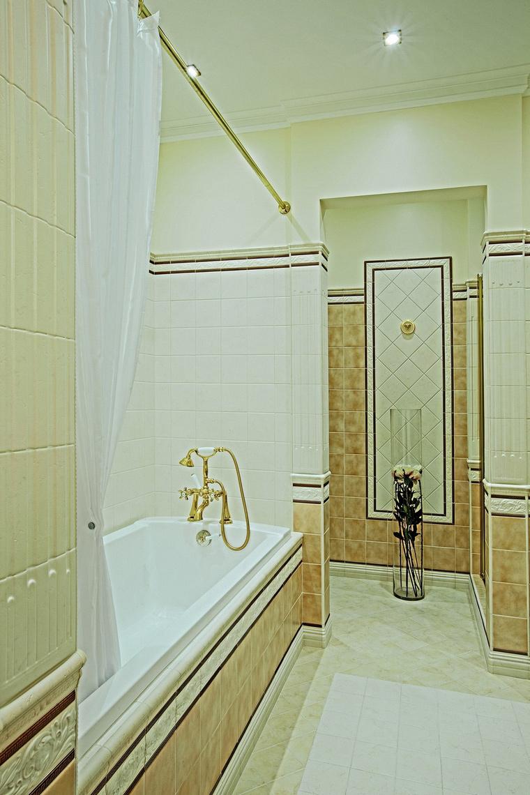 Квартира. ванная из проекта , фото №62335