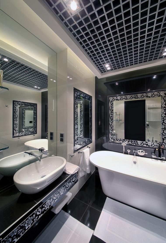 Квартира. ванная из проекта , фото №62405