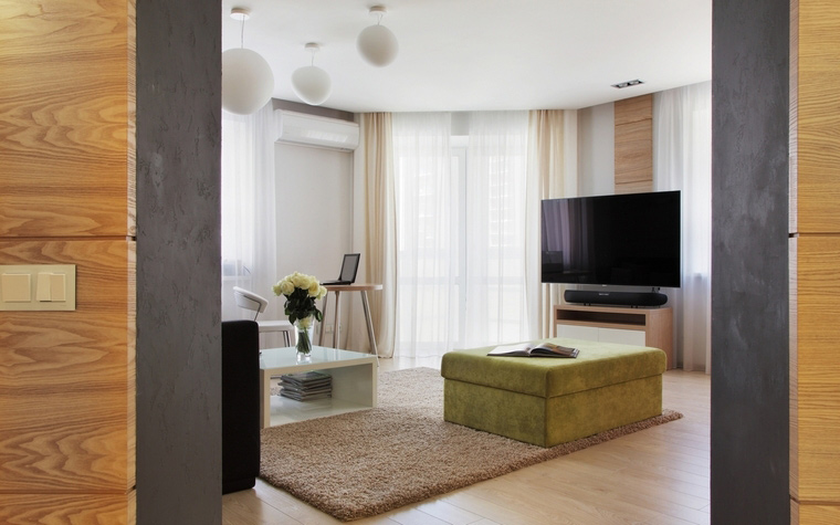 Квартира. гостиная из проекта , фото №62461