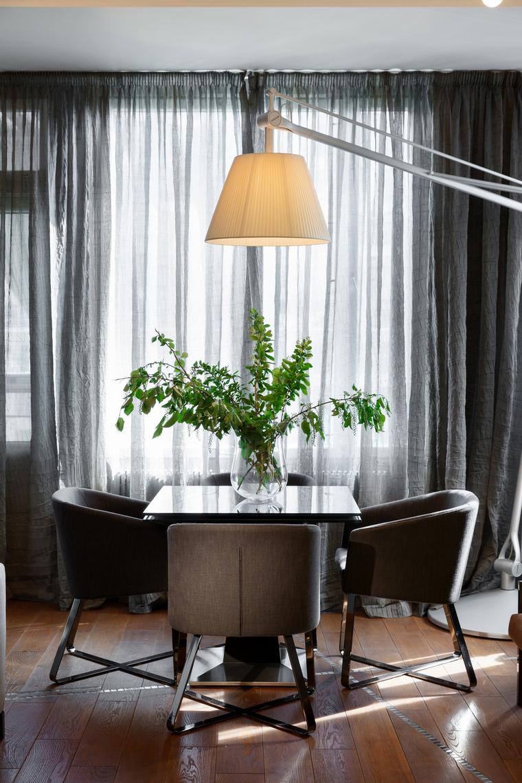 Квартира. столовая из проекта , фото №62618