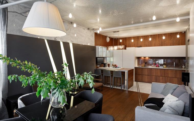 Квартира. столовая из проекта , фото №62619