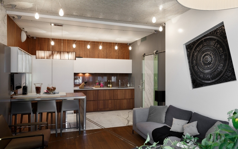 Квартира. кухня из проекта , фото №62615
