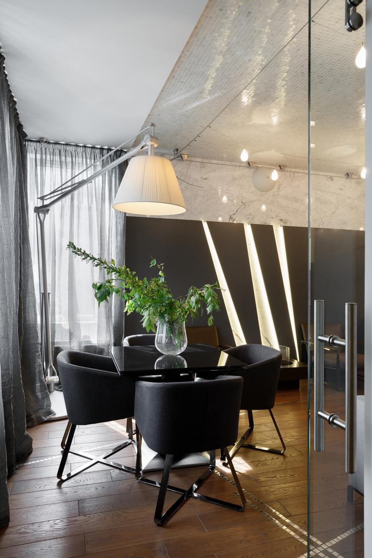 Квартира. столовая из проекта , фото №62621