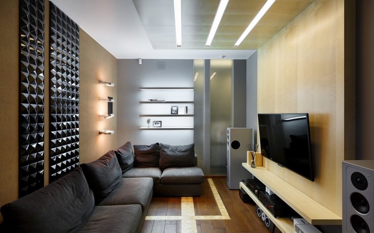 Квартира. гостиная из проекта , фото №62611