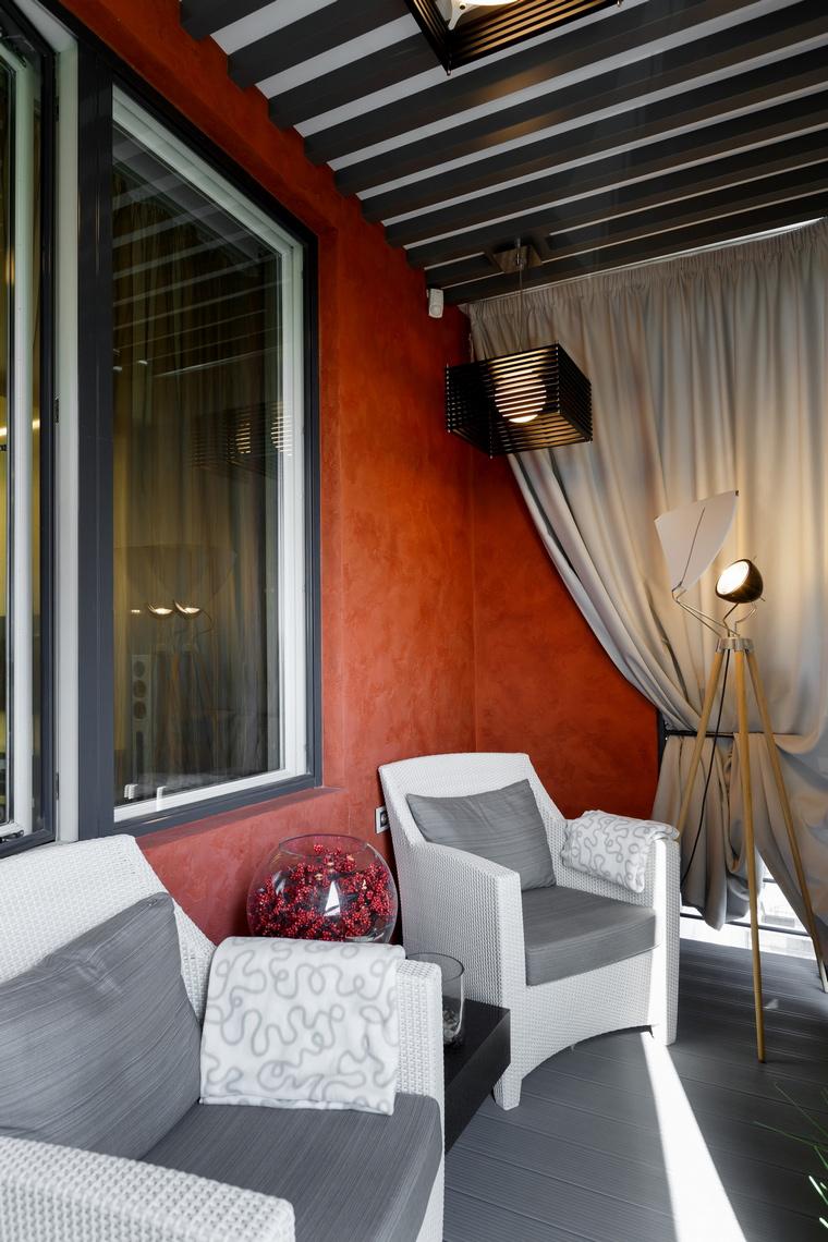 Квартира. веранда лоджия из проекта , фото №62628