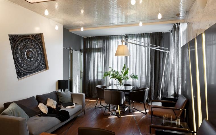 Квартира. гостиная из проекта , фото №62609