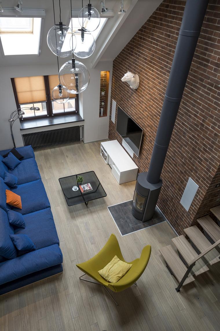 интерьер гостиной - фото № 62643