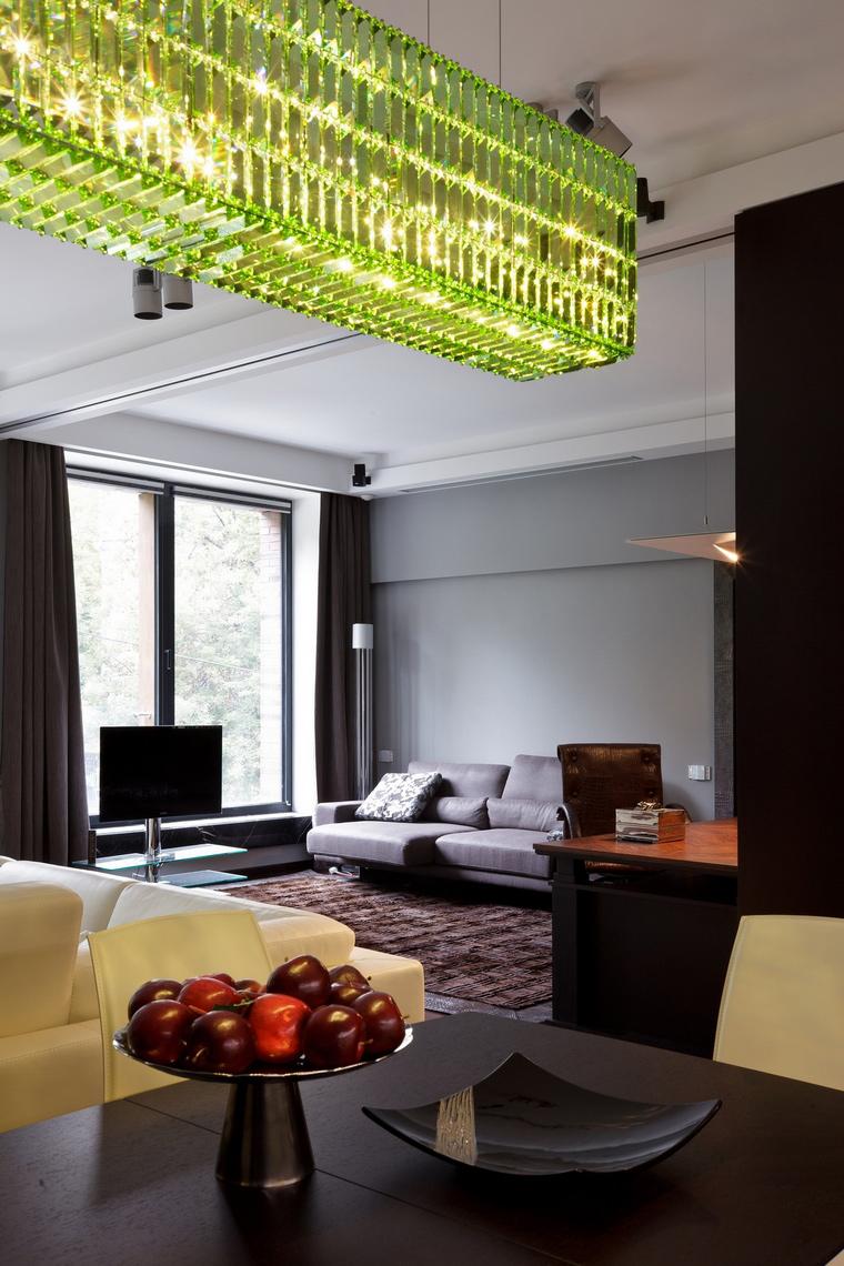 интерьер гостиной - фото № 62680