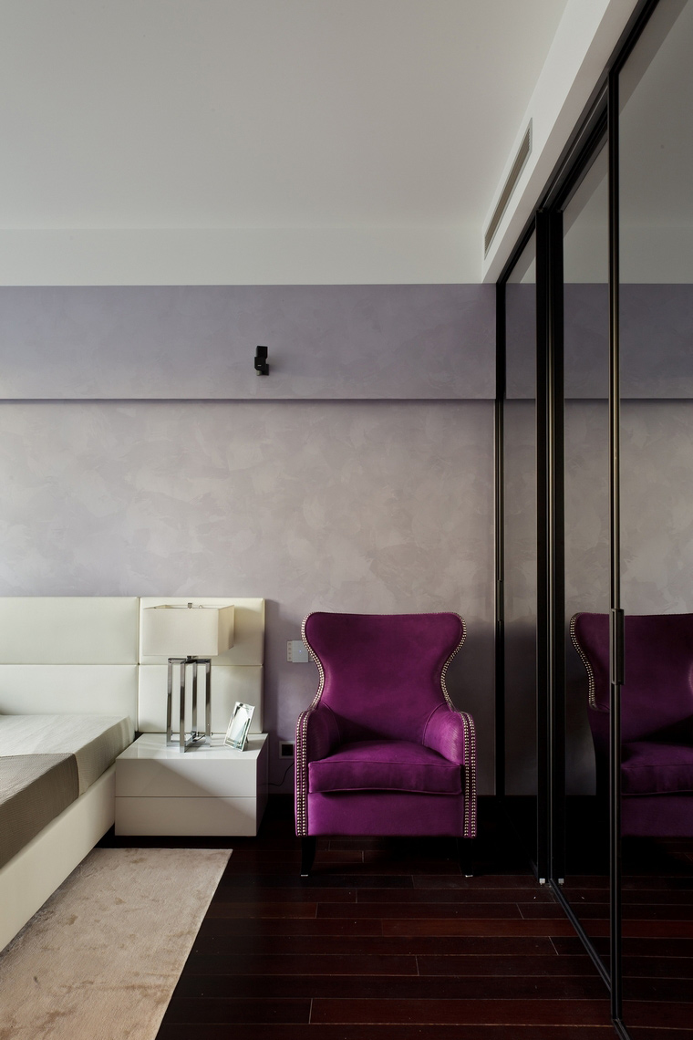Квартира. спальня из проекта , фото №62683