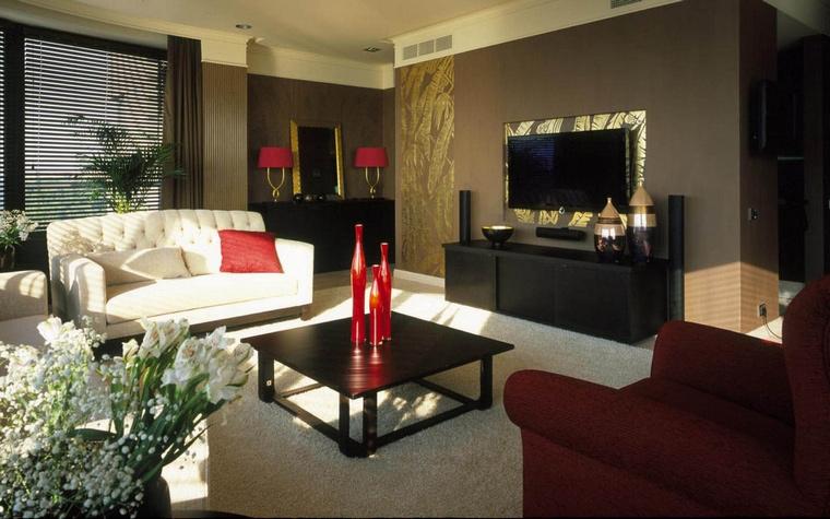 Фото № 62958 гостиная  Квартира