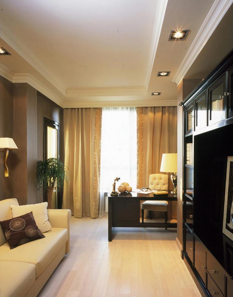 Квартира. кабинет из проекта , фото №62969
