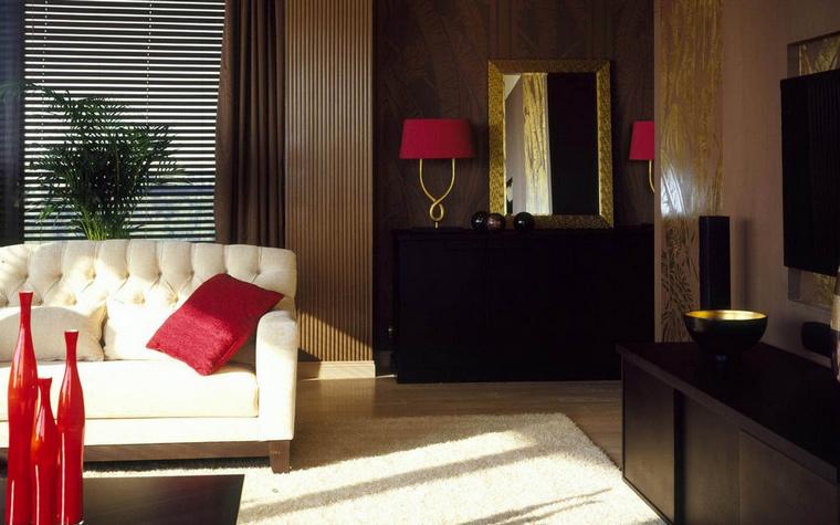 Фото № 62960 гостиная  Квартира