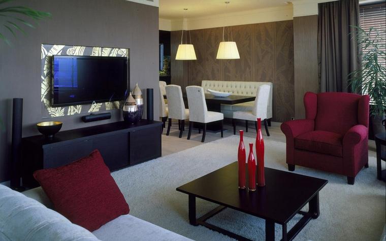 Фото № 62956 гостиная  Квартира