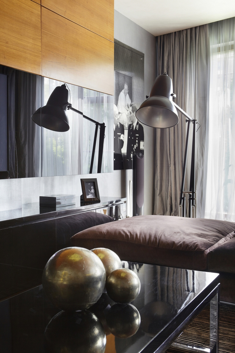 Фото № 62974 гостиная  Квартира