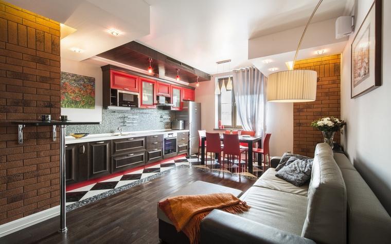 Квартира. гостиная из проекта , фото №63008